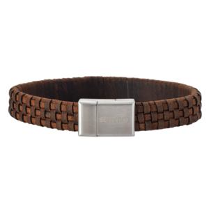 SON BRACELET Brown CALF LEATHER 897 000