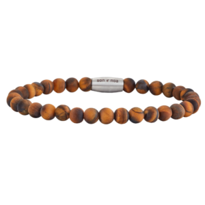 SON BRACELET MATT YELLOW TIGER EYE 898 001