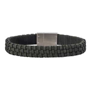 SON BRACELET Grey CALF LEATHER 897 000